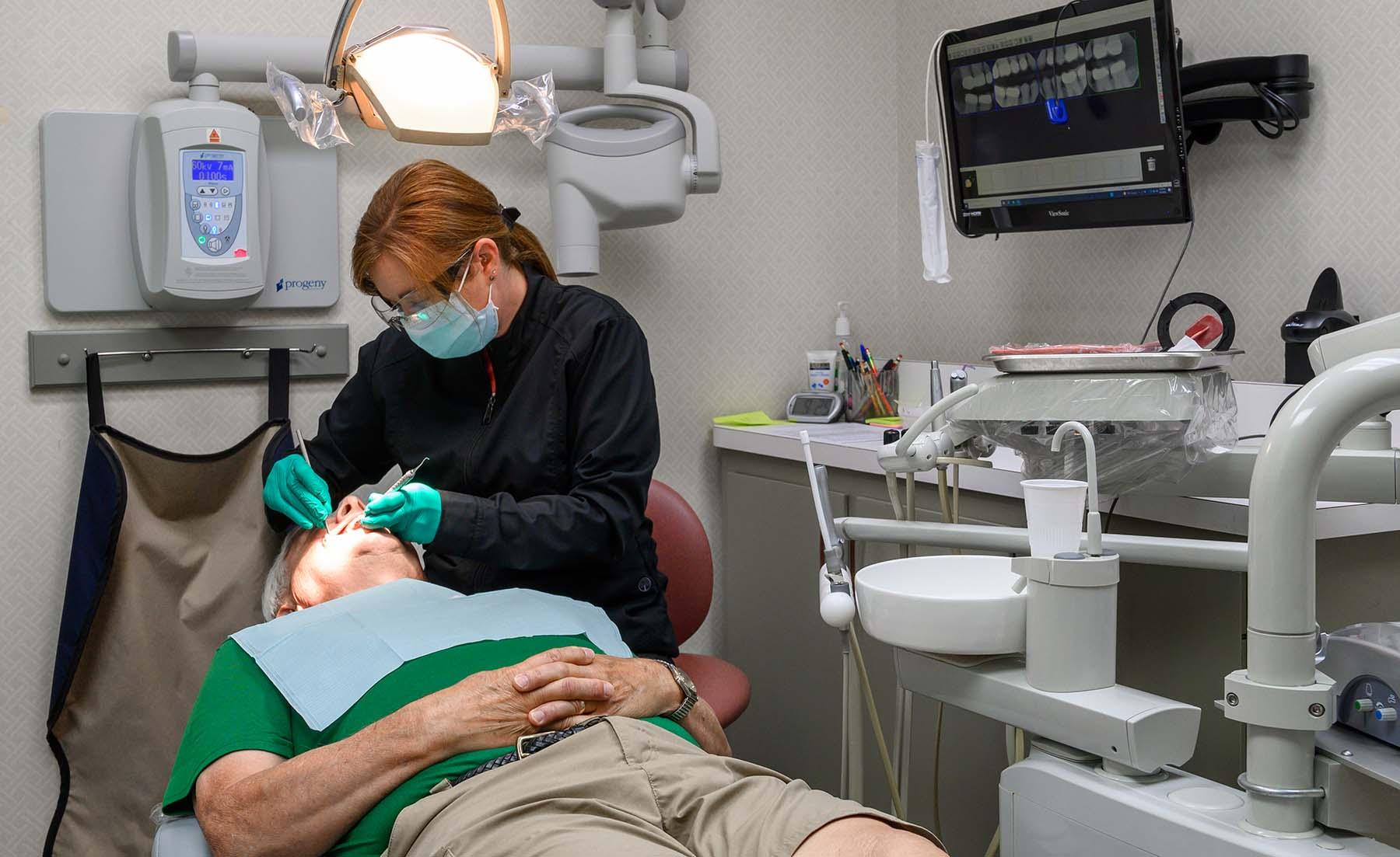 Preventative, comprehensive dental services